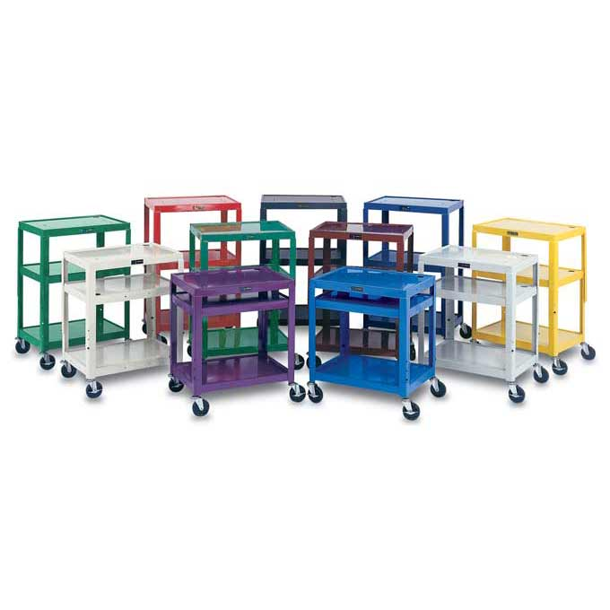 w42ae--metal-utility-cart-with-electrical-assembly