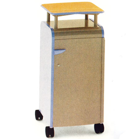 30314-cascade-series-threeshelf-mobile-presentation-cart-w-doors-21-w-x-19-d