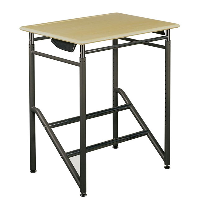 adjustable-standing-school-desk-32-to-46-h-grades-5th-12th