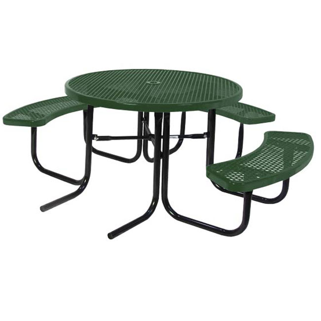 358hrdp-round-ada-compliant-perforated-metal-outdoor-picnic-table