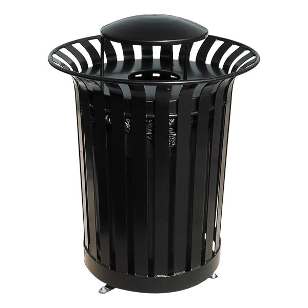 lx36rb-rain-bonnet-top-lexington-outdoor-trash-receptacle