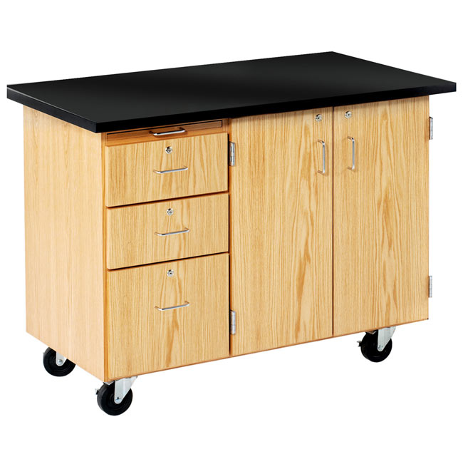 4332kf-mobile-storage-desk-w-flat-top