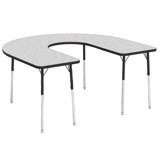 48horse60dc-60-x-66-horseshoe-deep-center-cut-gray-nebula-top-table