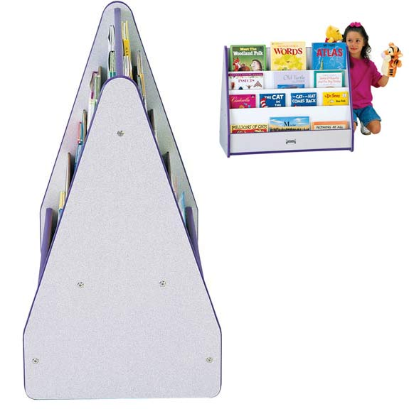 3507jcww-rainbow-accents-pick-a-book-stand-2-sided-w-casters