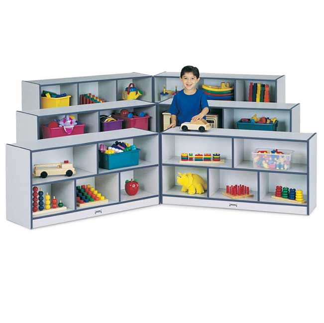 0292jc-2912h-mobile-foldnlock-storage-unit-each-wing-48wx15d-speckled-gray-waccent-color