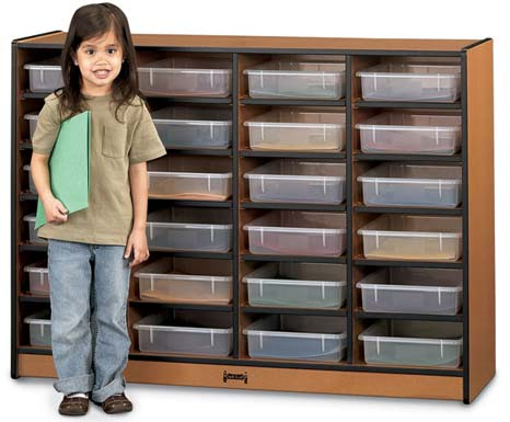06250jc-sproutz-24-paper-tray-mobile-cubbie-with-clear-trays