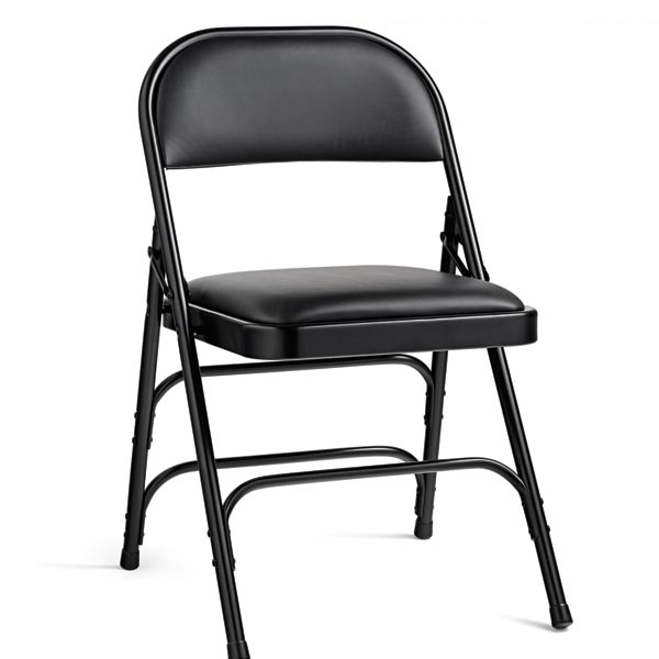 Samsonite Vinyl Padded Steel Folding Chair Folding Chairs