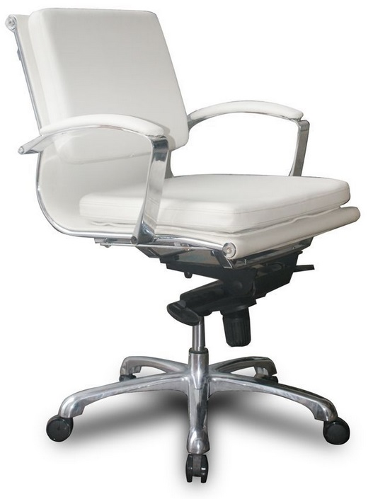 Ndi Office Furniture 502kt Knee Tilt Leather Conference Chair W Mid Back