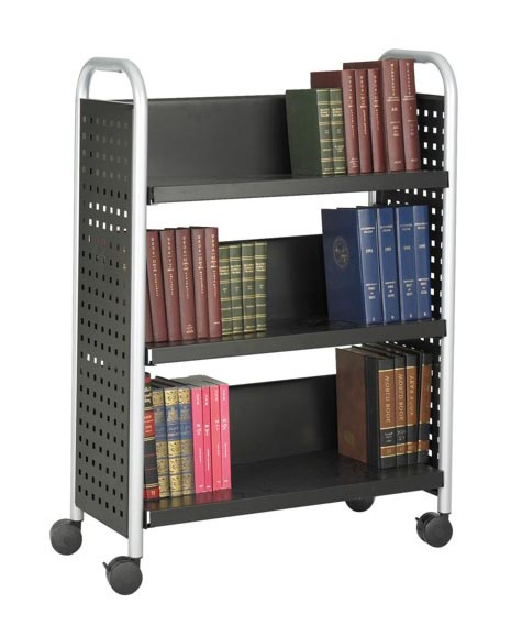 5336bl-single-sided-3-shelf-cart