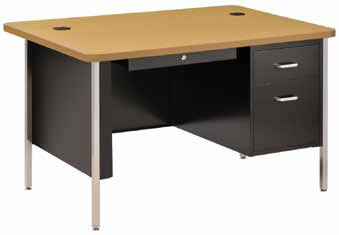 sq6030-60w-x-30d-single-pedestal-rounded-corner-steel-desk