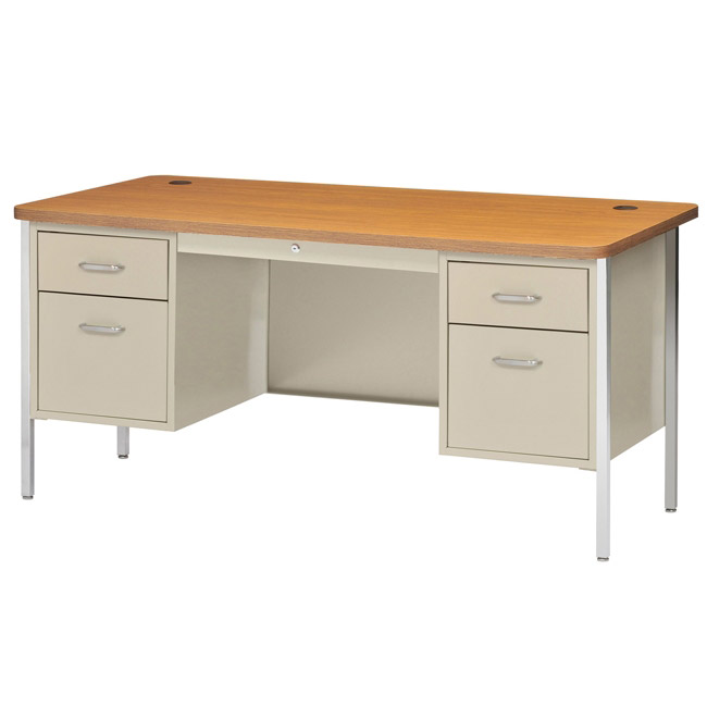 dq6030-60w-x-30d-double-pedestal-rounded-corner-steel-desk