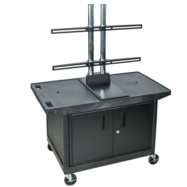 le27cwtud-flat-panel-cart-with-cabinet-27-h