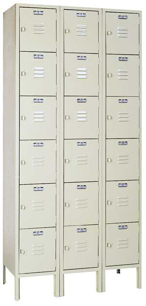 53623-12wx18dx12h-putty-6-tier-box-locker-3sections-wide-18-openings