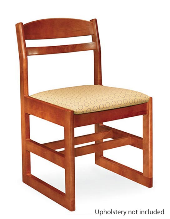 Classmate Sled Base Wooden Chair