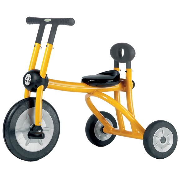30014-yellow-pilot-large-tricycle-with-1-seat-ages-46