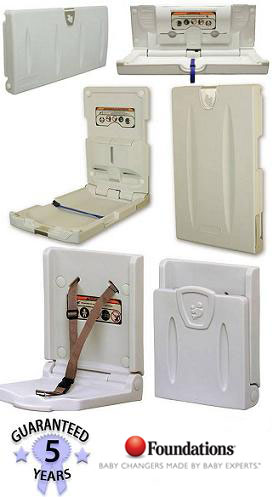 Economy Series Wall Mounted Baby Changing Station