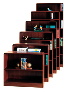 r604exc-60h-classic-radius-style-heavyduty-bookcase-w5-shelves