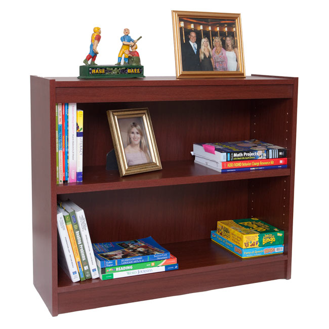 7801-30h-laminate-bookcase-w1-shelf