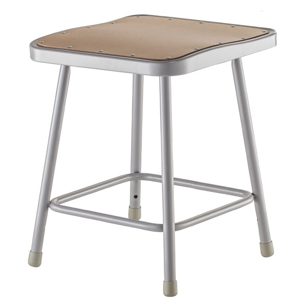 6318-18h-fixed-height-square-seat-classroom-stool