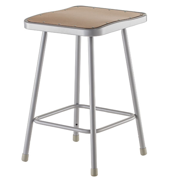 6324-24h-fixed-height-square-seat-classroom-stool