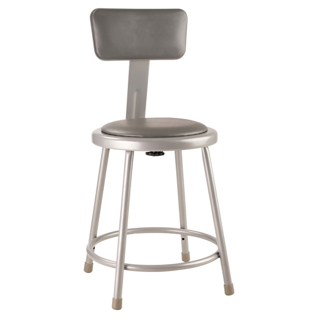 6418b-18h-metallic-gray-padded-steel-stool-wbackrest