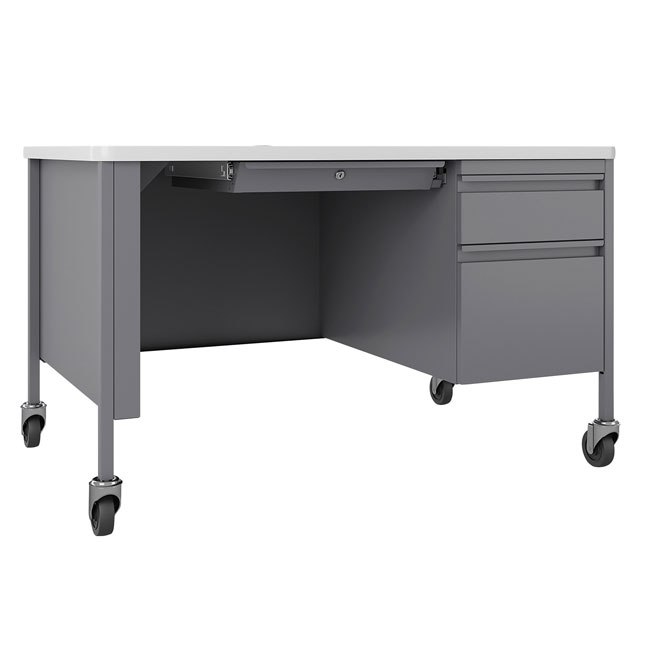 fortress-mobile-right-single-pedestal-desk