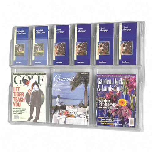 5605cl-30wx2212hx2d-3-magazine6-pamphlet-acrylic-literature-wall-rack