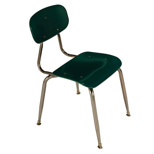 All Solid Plastic School Chairs (3/8\