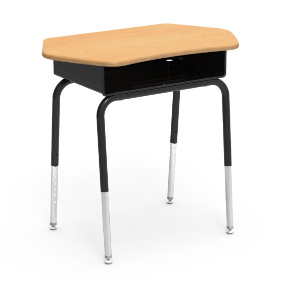 785ctm-desk-with-collaborative-solid-plastic-top