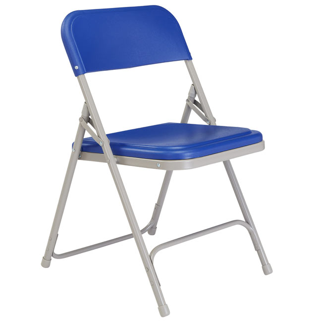 NPS 800 Series Plastic and Metal Folding Chairs