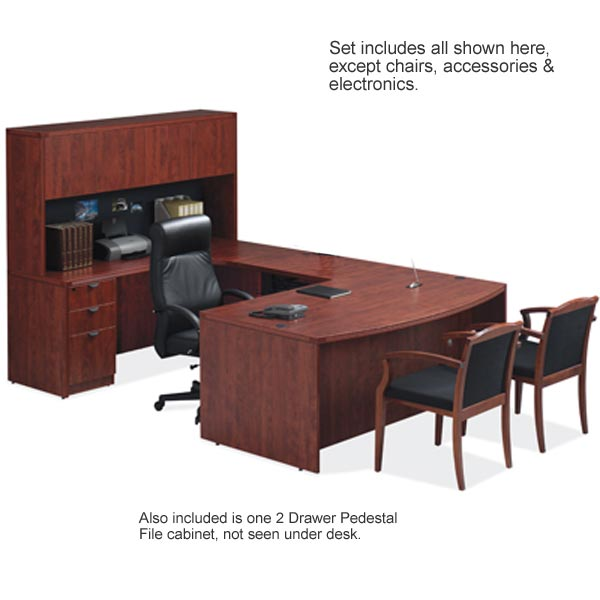 Ndi Office Furniture Complete Office Suite No 1 W Left Return Pl1 Pl175 Office Suites
