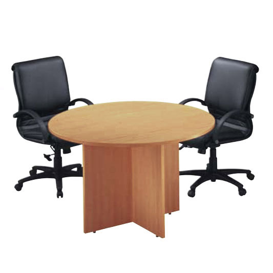 competitive price bbec0 cccba Round Conference Table with X-Base (42