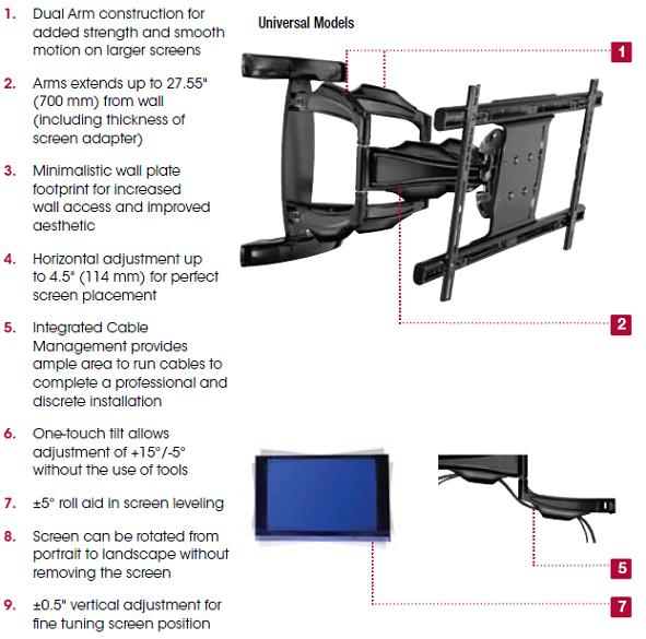 sa763pu-articulating-wall-arm-for-37-63-flat-panel-screens