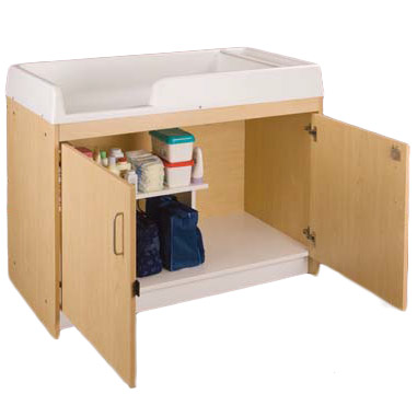 Tot Mate 8530aqs Infant Changing Table Assembled