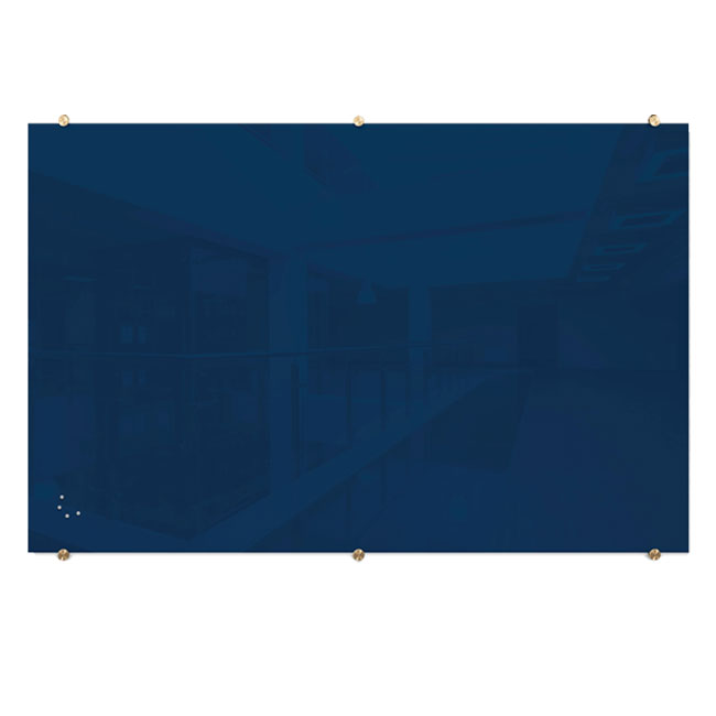 visionary-navy-magnetic-glass-dry-erase-boards-with-brass-mounts-by-best-rite