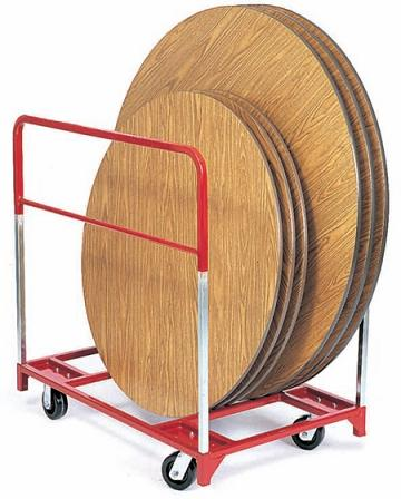 3709-standard-round-folding-table-truck-w-6-all-swivel-casters