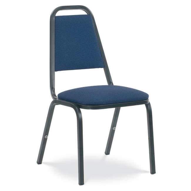 Virco 8926 Padded Stack Chair With Square Back Fabric