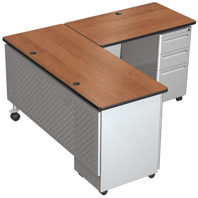 competitive price bd11e aa385 L-Shaped Desk Set