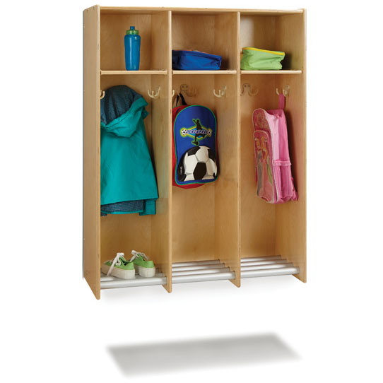 9135jc-hanging-wall-locker-with-tube-shoe-rack-3-sections-no-tubs
