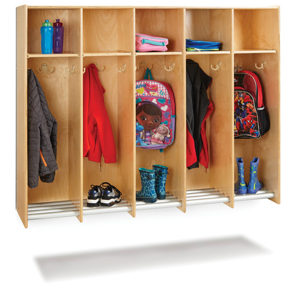 9137jc-hanging-wall-locker-with-tube-shoe-rack-5-sections-no-tubs