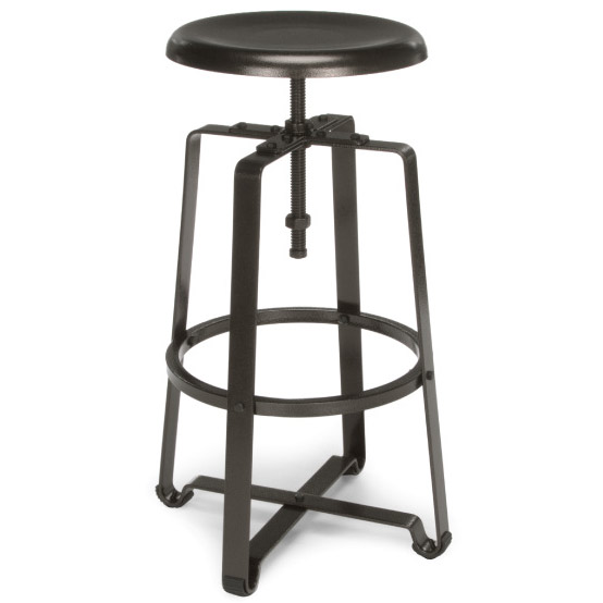 Strange Endure Series Stool Tall W Metal Seat Squirreltailoven Fun Painted Chair Ideas Images Squirreltailovenorg
