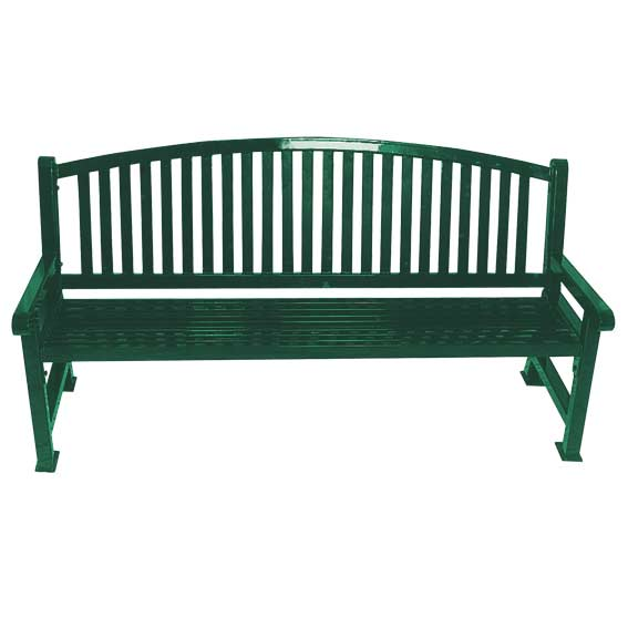 Ultraplay Savannah Bow Back Outdoor Bench 4 L 922 B4 Outdoor