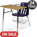 Click here for more Virco 9400BR Combo School Desk - Quick Ship by Worthington