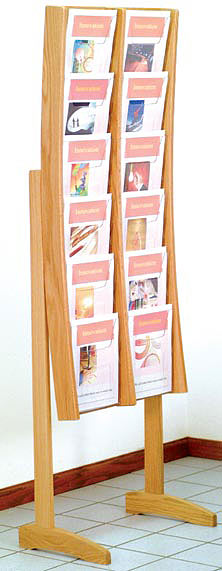 oak-acrylic-literature-displays-wooden-mallet