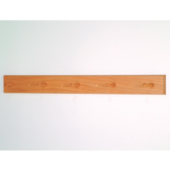 hcr5w-5-wood-peg-oak-wall-coat-rack