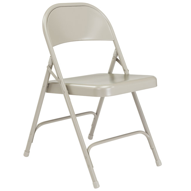 52-gray-single-hinge-19-gauge-steel-round-back-folding-chair
