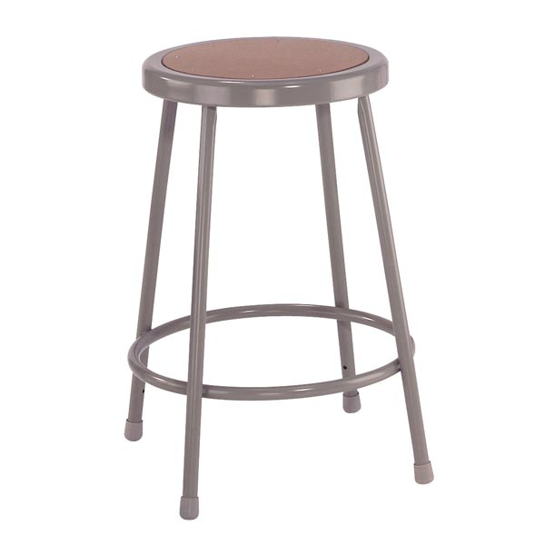 National Public Seating Steel Stool 24 Quot H 6224 Lab