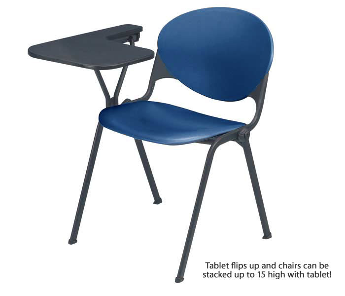 2000ta-stack-chair-with-folding-tablet-arm