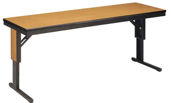 ctla185f-18-x-60-adjustable-height-cantilever-leg-training-table