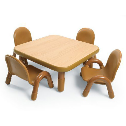 Ab74112 Baseline Toddler Table Chair Set 30 Square